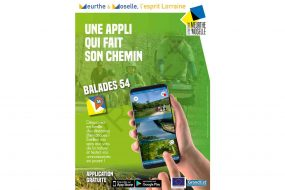Promotion application mobile Balade 54